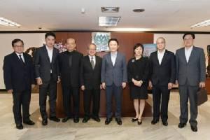 """""""ซีพีเอฟ"""" ต้อนรับผู้ว่าการรัฐฮยองฮี ของเกาหลีใต้ เพื่อแลกเปลี่ยนแนวคิดทางธุรกิจ"""