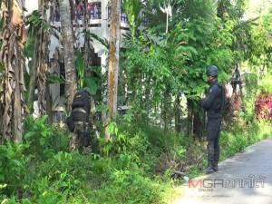 โจรใต้วางระเบิดพลาดหวังดักสังหาร จนท.ที่มีกำหนดการจะฝึกยิงปืนที่บาเจาะ
