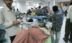แพทย์อินเดียแห่ฝึกศิลปะป้องกันตัว หลังเกิดเหตุญาติคนไข้รุมตื้บหมอ