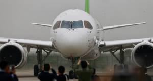 (คลิป)นาทีประวัติศาสตร์การบินยุคใหม่ จัมโบโดยสารจีน ซี919 ทะยานสู่ฟ้าแล้ว