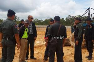 สนธิกำลังตรวจสอบที่ดินนายห้างขายยาบนเกาะลันตา หลังถูกร้องบุกรุกถมดินป่าสงวนแห่งชาติ