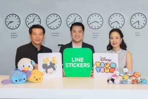 LINE จับมือ Disney สร้างสติ๊กเกอร์ภาษาไทยครั้งแรก