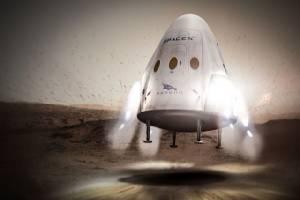 การเดินทางไปดาวอังคารของ Red Dragon
