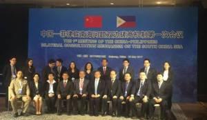 จีน ฟิลิปปินส์ หารือทวิภาคีประเด็นทะเลจีนใต้ครั้งแรก เปิดอกถกทุกประเด็นด้วยท่าทีมิตร
