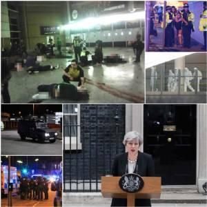 """InPics : นายกฯ เมย์แถลง ตำรวจอังกฤษ """"รู้ชื่อมือระเบิดฆ่าตัวตายแล้ว"""" เดอะซันเปิด อาจอยู่ในเซลก่อการร้ายเป้า MI5 """"ค้นพบชิ้นส่วนคนร้าย-จับกุมต้องสงสัยรายแรก"""""""