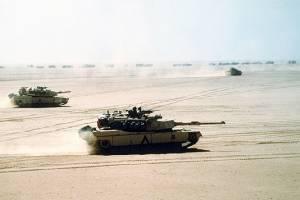 """สหรัฐเร่งทดสอบระบบ Trophy ติด M1A2 """"เอบรามส์"""" รับมือ ATGM รัสเซีย"""
