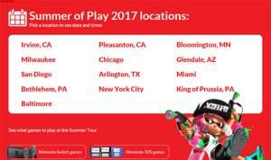 นินเทนโดเปิดแผนโร้ดโชว์ทั่วสหรัฐ จัดเต็มเกมดัง