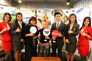 """""""เก๋ายกก๊วน ชวนเที่ยวไทย"""" ชวนผู้สูงวัยเที่ยวเพลิน พร้อมรับสิทธิพิเศษมากมายจากแอร์เอเชีย"""