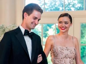 แอบดูชีวิตรักซีอีโอ Snapchat แต่งงานนางแบบสาว 27 พ.ค.