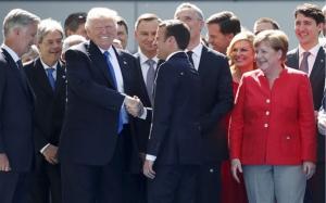 ความกระอักกระอ่วนของผู้นำ EU และ G7 เมื่อประชุมครั้งแรกกับทรัมป์