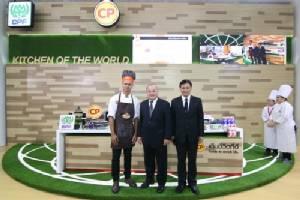 """""""ซีพีเอฟ"""" โชว์ครัวโลกยั่งยืน ในงาน THAIFEX 2017"""