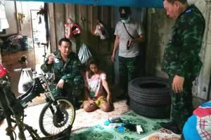ทันสมัยน่ะ! ทหารจับ 2 พี่น้องขายยาบ้า ลูกค้าสั่งซื้อทางไลน์