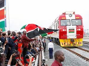 """InPics : เคนยาเปิดใช้ """"เส้นทางรถไฟเงินกู้ปักกิ่ง$3.2 พันล้าน"""" หนึ่งในเส้นทางสายไหมจีน ยิ่งใหญ่สุดตั้งแต่รับเอกราชจากอังกฤษ"""