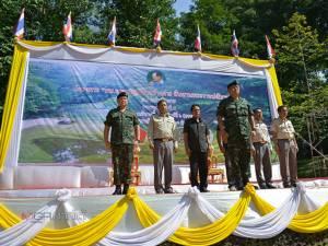 """กรมทหารราบที่ 5 จัดโครงการ """"กองทัพบกอาสาปลูกป่า สร้างฝาย สืบสานพระราชปณิธาน"""""""