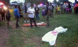 โจรโหดฆ่าชิงทรัพย์สาวใหญ่ดับคาบ้าน ส่วนเพื่อนเห็นเหตุการณ์ถูกฆ่าทิ้งอีกราย