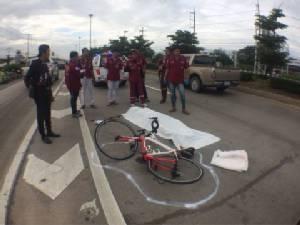 สลด! วิศวกรแดนจิงโจ้ปั่นจักรยานถูกชนดับ