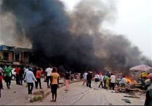 """""""โบโกฮารัม"""" บุกโจมตีเมืองไมดูกูรี ทางเหนือของไนจีเรีย มีผู้เสียชีวิต 14 ราย"""