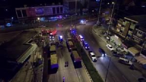 รถพ่วงชนกันเองไฟคลอกสยอง 1 ศพ แยกมาลัยแมน