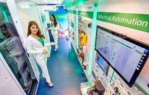 รถโมบายล์ สมาร์ท โซลูชัน ดีลิเวอรีโฉมใหม่ ใส่ EcoStruxure™ ควบคุมผลิตภัณฑ์แบบออนไลน์ได้ทั้งระบบ