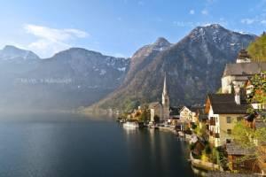 สวยสุดใจ 'Hallstatt' เมืองในฝันริมทะเลสาบ