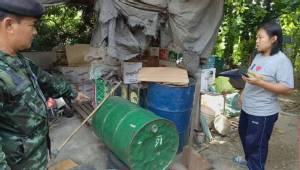 บุกจับแหล่งผลิตน้ำผึ้งปลอมป่าซาง พบใช้แบะแซ น้ำตาลผสมส่งขายทั่ว
