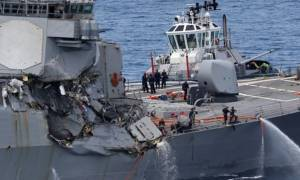 พบศพ 7 ทหารอเมริกันที่สูญหาย สื่อญี่ปุ่นชี้เรือสินค้าเลี้ยวกะทันหันก่อนชนเรือรบ