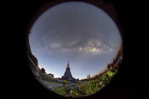 เลนส์ฟิชอาย (Fisheye Lens) กับการถ่ายภาพดาราศาสตร์