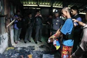 หิ้วหลานทรพีฆ่าเผาอำพรางศพลุง ทำแผนประกอบคำรับสารภาพ