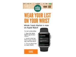 โฮลฟู้ด ถอดแอปสำหรับ Apple Watch ออกจากแอปสโตร์ตามหลังกูเกิล, อีเบย์ และแอมะซอน