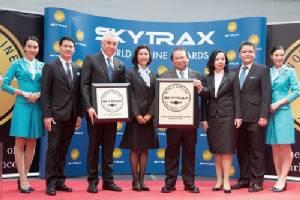 บางกอกแอร์เวย์สคว้า 2 รางวัล  สายบินภูมิภาคที่ดีที่สุดในโลก