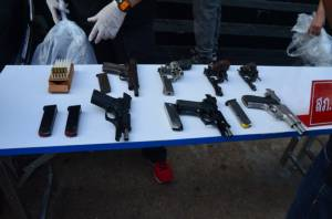 ผู้การสายตรวจ 191 บุกจับทหารอากาศอุบลฯ รับจำนำรถ-ปืนผิดกฎหมาย