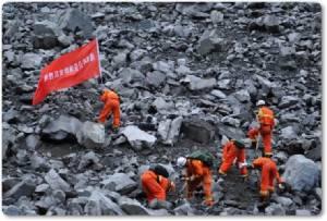 InPics:ดินถล่มจีนสูญหายอีกอื้อ 118 กู้ภัยจีนค้นพบ 15 ร่างผู้เสียชีวิต สุดฮือฮา!!ทารก 2 เดือนรอดตายปาฏิหาริย์