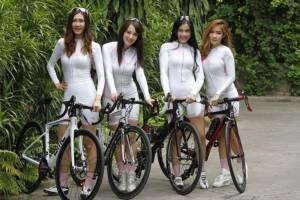 ยลโฉม 5 นางฟ้าบนอานจักรยาน