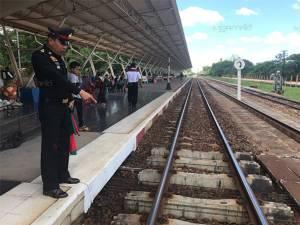 บุกพบนายสถานีรถไฟปัตตานี แจงเบิกโอทีเดือน พ.ค.แสนกว่าคุมงานซ่อมราง ยันทำตามหน้าที่