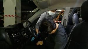 เสียชีวิตอีกราย ข้าราชการกรมชลฯ วัย 55 ปี ติดเครื่องหลับในรถเก๋ง