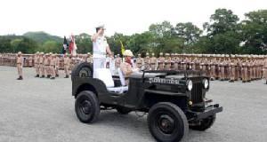 ทหารใหม่ ทร.ผลัด 1 รุ่น 2560 สวนสนามปิดภาคการฝึกเตรียมประจำหน่วยรบ