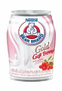 """นมตราหมีโกลด์ รสชาติใหม่ """"โกจิเบอร์รี่"""" มีวิตามินเอสูง ช่วยบำรุงสายตา"""