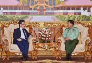 พม่ายันไม่มีความสัมพันธ์ทางทหารกับเกาหลีเหนือ