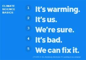 พื้นฐานวิทยาศาสตร์ 5 ประการ (ฉบับแหวกแนว) เรื่องโลกร้อน