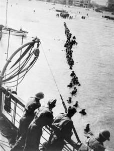 เปิดภาพจริงในยุทธการ  Dunkirk