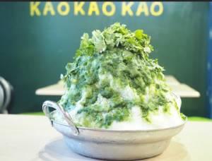 """กล้าลองมั้ย? """"น้ำแข็งไสผักชี"""" เมนูใหม่ร้านอาหารไทยในโตเกียว ถ้วยนี้แค่ 594 บาท"""