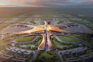 """ชมภาพการก่อสร้าง """"ฟีนิกซ์"""" สนามบินที่ใหญ่ที่สุดในโลกในกรุงปักกิ่ง"""