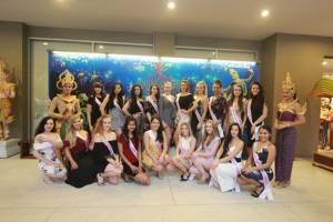สาวงามเยือนภูเก็ต...ผู้เข้าประกวดรอบสุดท้าย Miss Univers New Zealand ชมการแสดงที่สยามนิรมิต