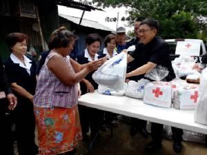 พ่อเมืองอุบลฯ เตือนชุมชนสองฝั่งน้ำมูลรับมือน้ำท่วม