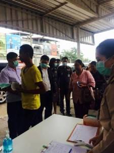 สสจ.ยันไม่ใช่ H1N1 ระบาดในพม่า ตม.เฝ้าระวัง-แจกหน้ากากพม่าเข้าแม่สอด