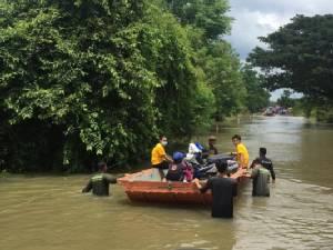 เขื่อนน้ำอูนปล่อยน้ำ หนองคายน้ำท่วมสูงขึ้น เดือดร้อนแล้ว 71 หลังคาเรือน