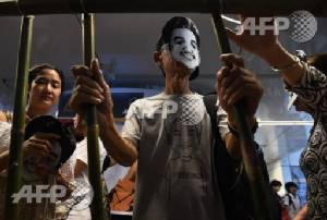 Thai student leader pleads guilty to lese majeste