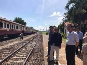 """ชงสัญญาออกแบบรถไฟไทย-จีน ครม.สัญจรที่โคราช ด้าน """"อาคม"""" สั่งเร่งต่อรองสรุปค่าคุมงาน"""