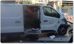 """In Pics : สเปนไล่ล่า """"คนขับรถตู้บาร์เซโลนา"""" ชี้เป็นวัยรุ่นอายุ 18 ล่าสุดตัวเลขดับเพิ่ม 14 ราย"""