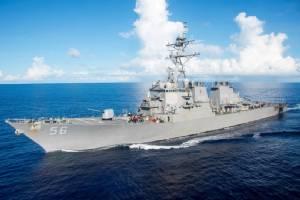 อีกแล้ว! เรือพิฆาตสหรัฐฯ ชนเรือบรรทุกน้ำมันนอกชายฝั่งสิงคโปร์ ลูกเรือสูญหาย 10 นาย-เจ็บ 5